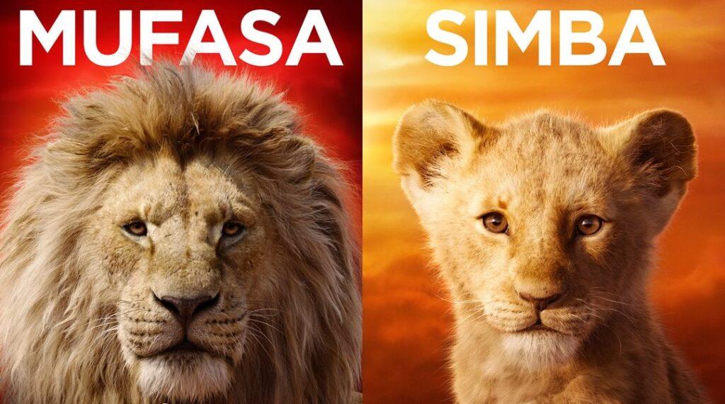 O Rei Leão | Disney liberou posters dos personagens e um comercial do filme