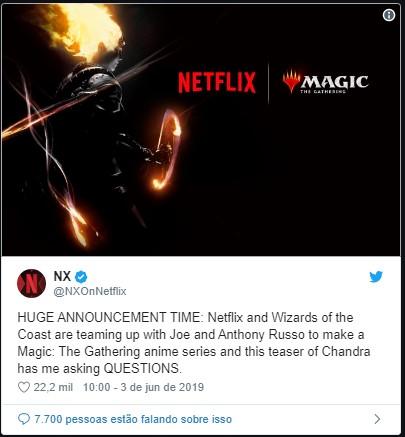 MAGIC THE GATHERING - MAGIC: THE GATHERING | Série animada da Netflix produzida pelos Irmãos Russo