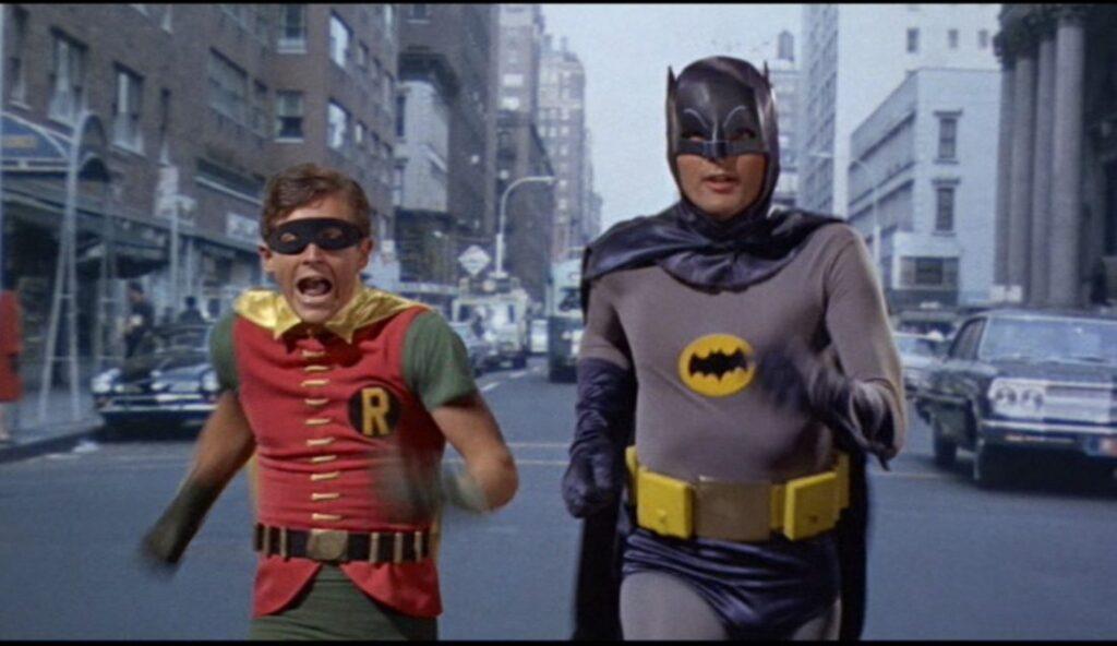 Série de TV Batman e Robin, exibida entre 1966 e 1968