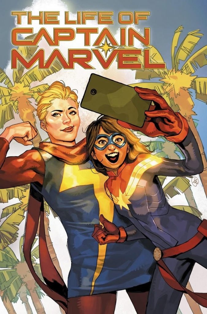 Capitã Marvel e Miss Marvel