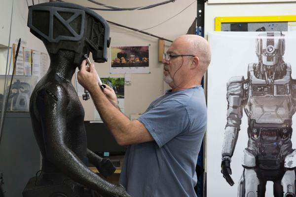 I Am Mother - Weta Workshop Robô para o filme da Netflix