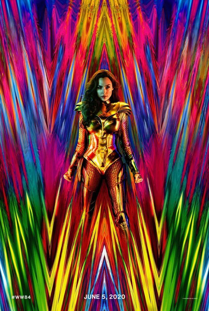 Poster Mulher Maravilha 1984