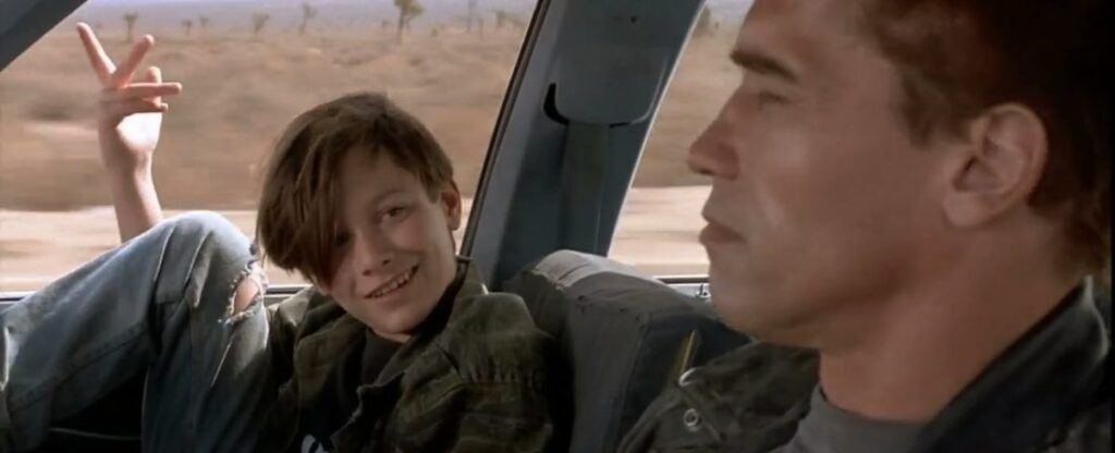 Edward Furlong como John Connor - O Exterminador do Futuro