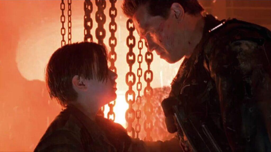 Edward Furlong como John Connor - O Exterminador do Futuro 2 - Dia do Julgamento