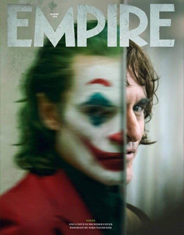Joaquin Phoenix Coringa Capa Revista Empire - Joaquin Phoenix como Coringa na capa da Revista Empire