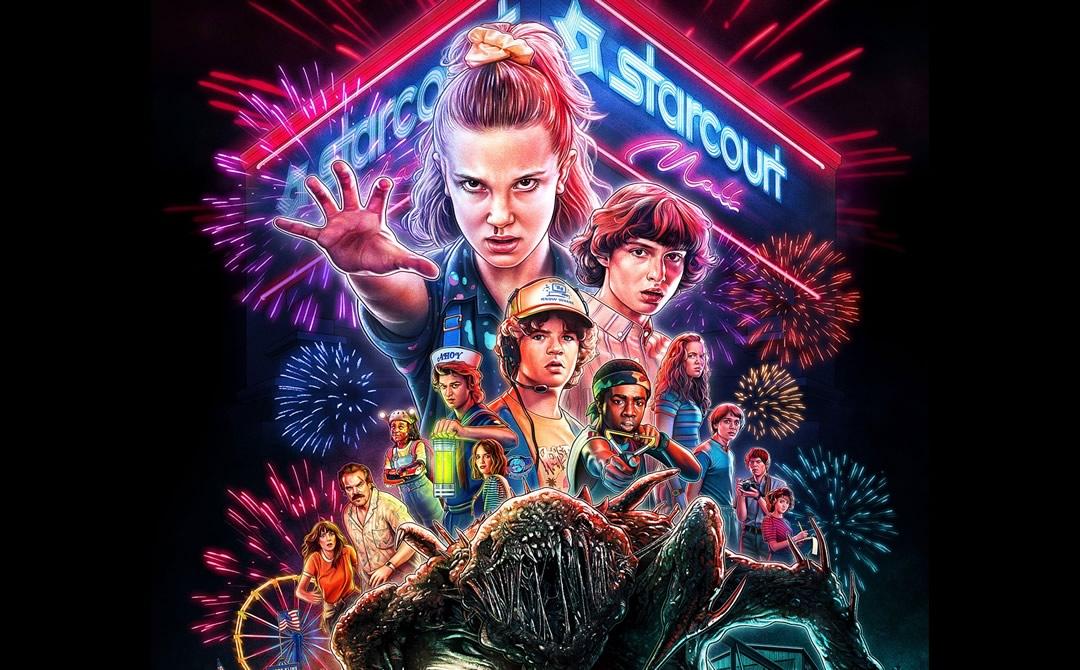 Stranger Things 3 - Netflix libera a 3ª temporada