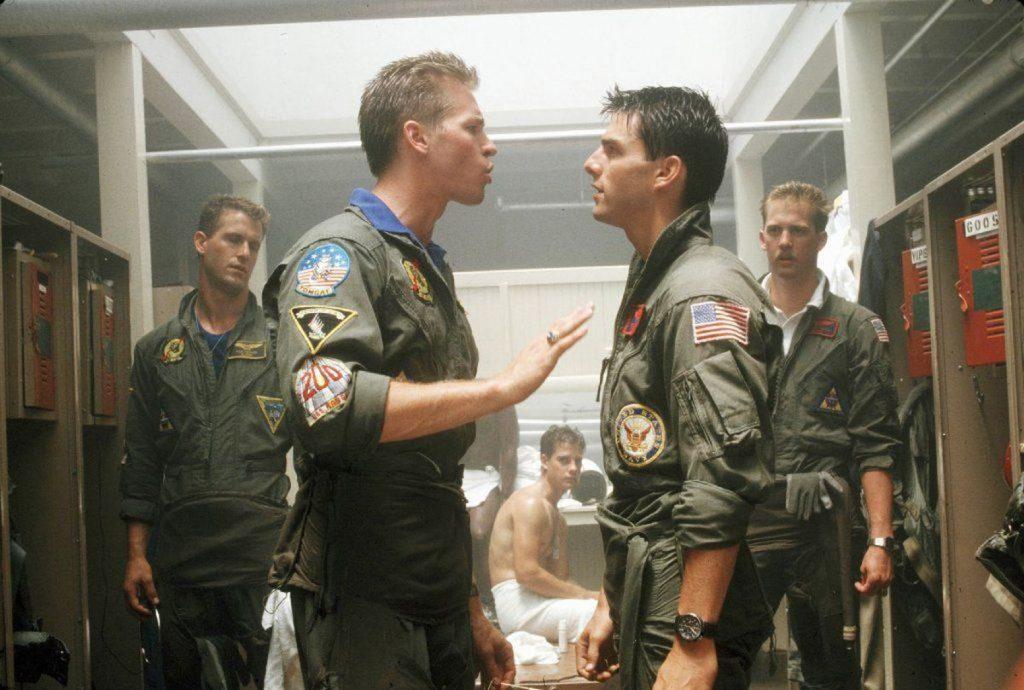 Val Kilmer estará de volta como Iceman em Top Gun Maverick.