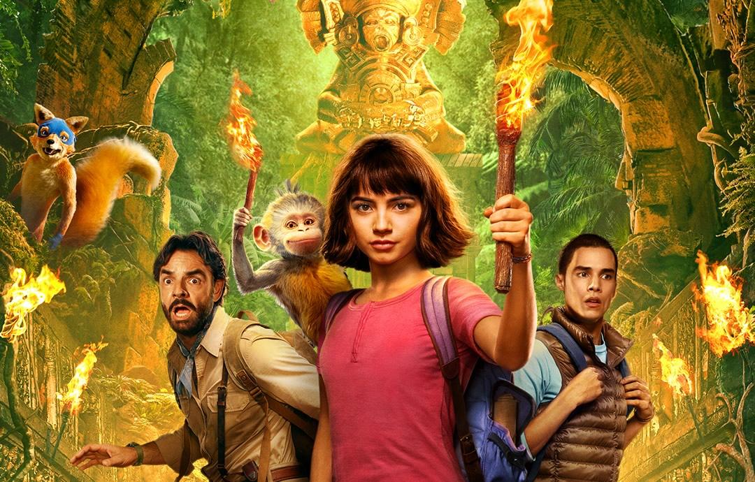 Dora e a Cidade Perdida trailer com o Raposo