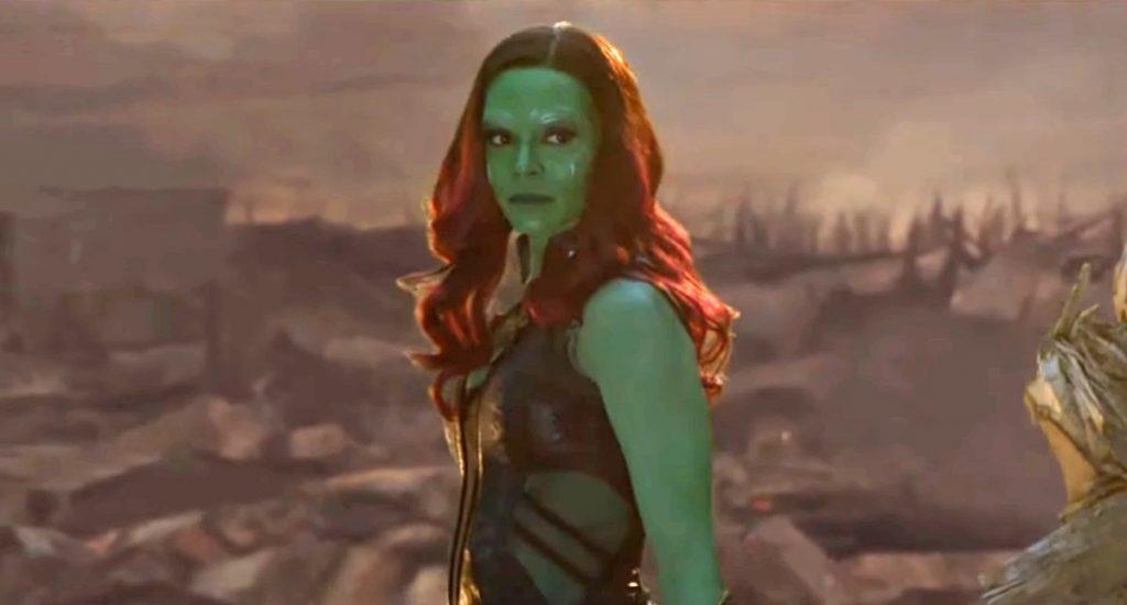 Cena deletada spoiler de Gamora se afastando dos Vingadores