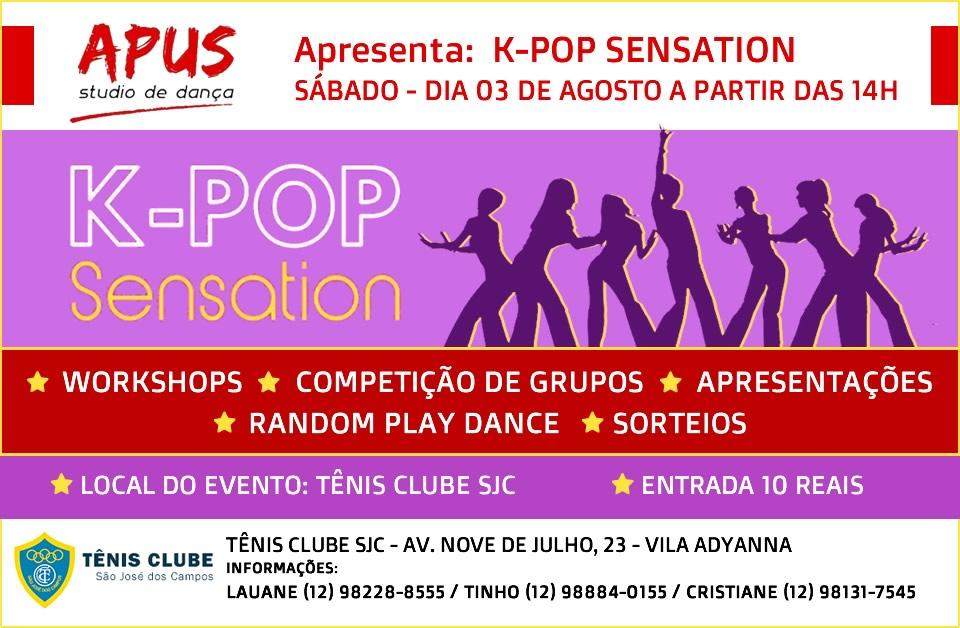 K-POP Sensation - Apus Studio de Dança