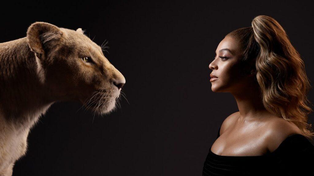 O Rei Leão - Beyoncé -Nala adulta
