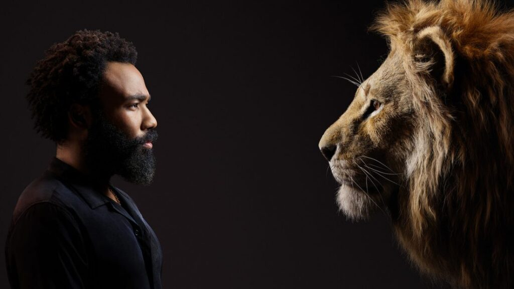 O Rei Leão - Donald Glover - Simba adulto