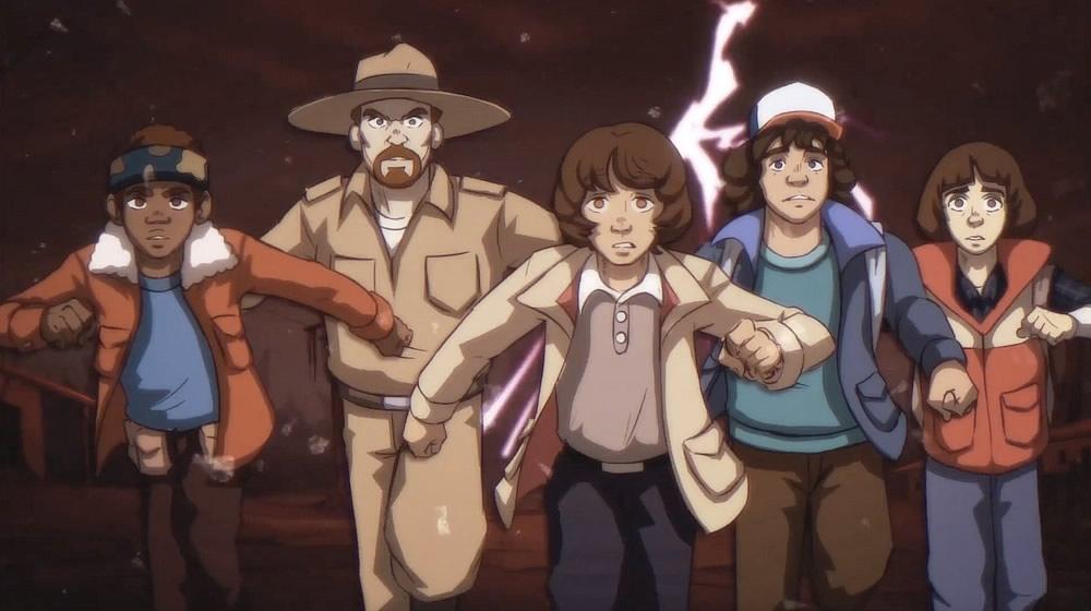 primeira segunda temporada stranger things fosse um anime - E se Stranger Things fosse um anime dos anos 80?