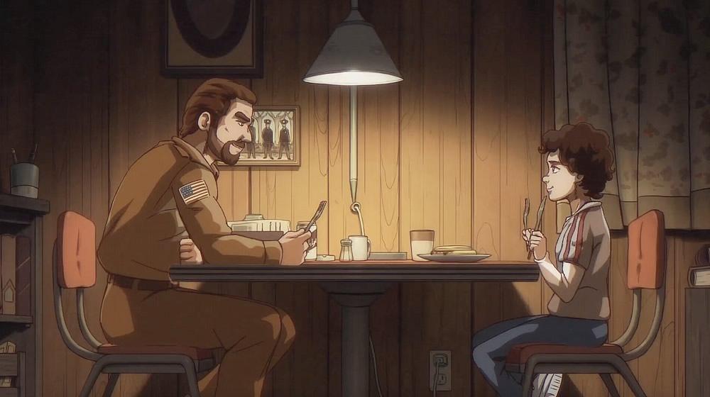 stranger things se fosse um anime da primeira segunda temporada - E se Stranger Things fosse um anime dos anos 80?
