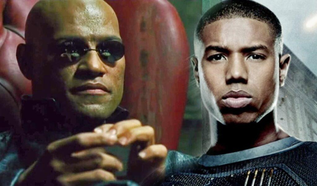 Matrix  4 - Michael B. Jordan - Morpheus
