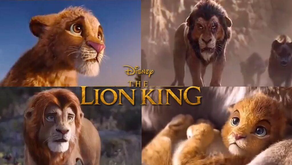 O Rei Leão - Vídeo mistura Live-action com o Desenho original