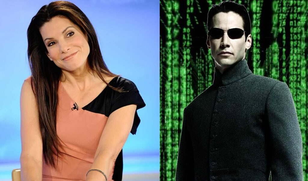 Sandra Bullock Neo Matrix 1024x604 - Matrix 4 oficializado com a volta de Keanu Reeves e Carrie-Anne Moss