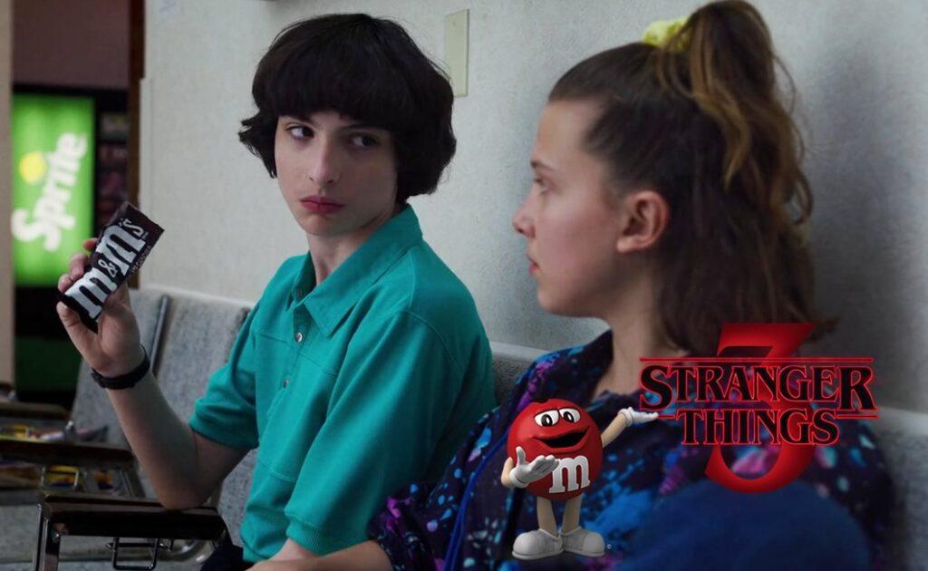 Stranger Things 3   Erro de continuidade com M&Ms