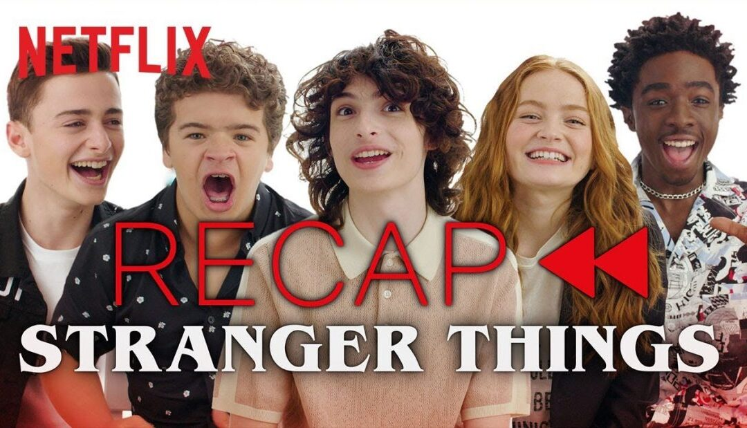 Stranger Things: Atores recapitulam a primeira e segunda temporada