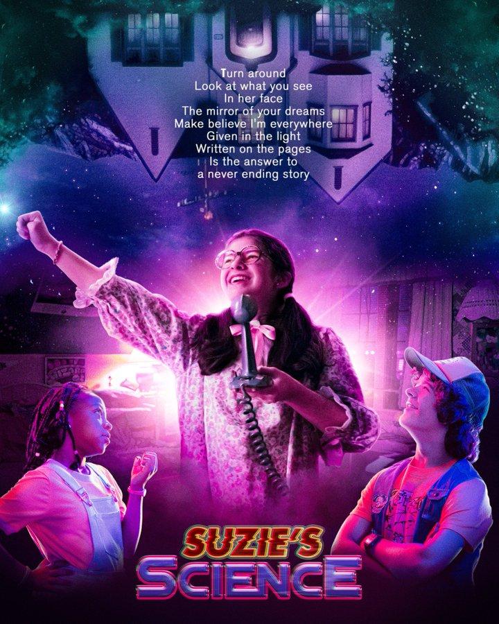 Suzie cantando NeverEnding Story - Stranger Things 3