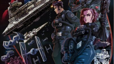 Star Wars | TIE Fighter curta do animador Paul Johnson