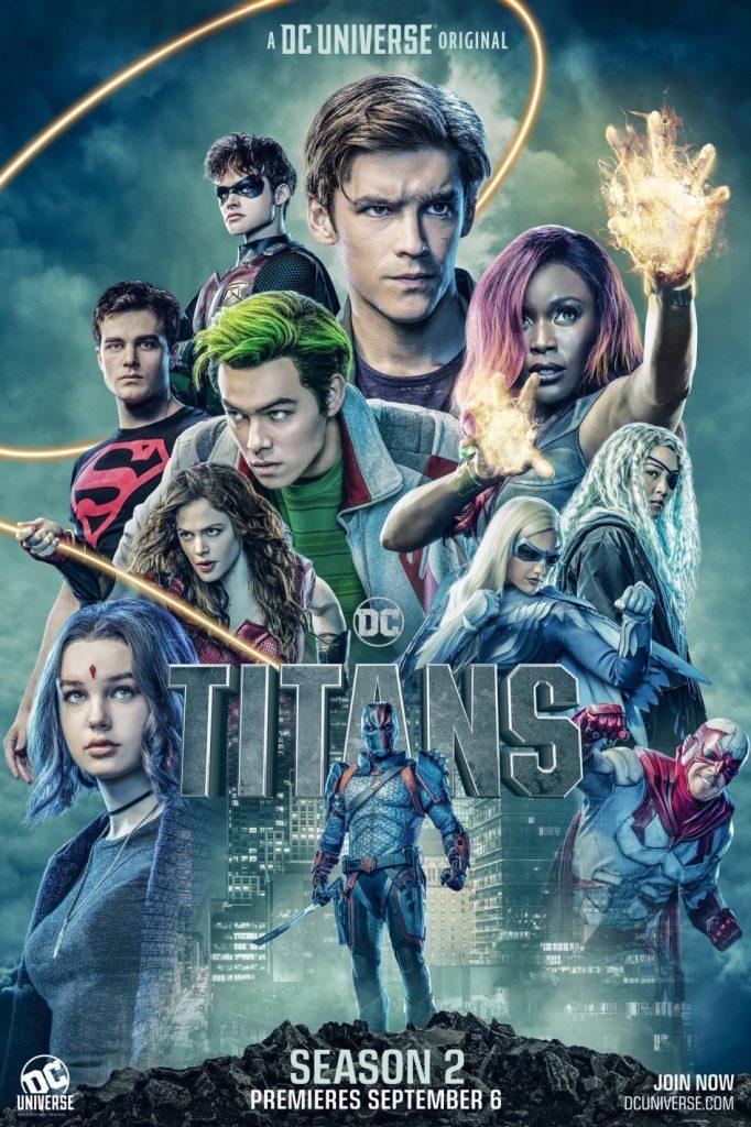 Titans - Poster da segunda temporada