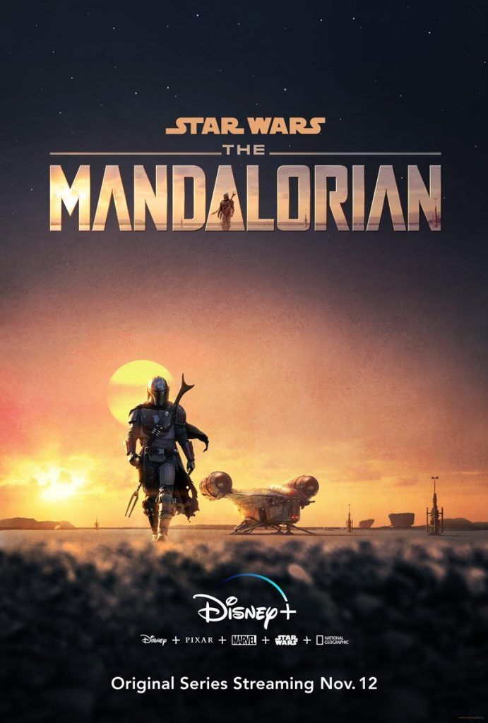 O cartaz Mandaloriano da D23 Expo 2019