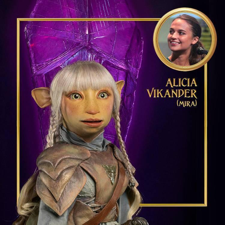 O Cristal Encantado: A Era da Resistência - Alicia Vikander