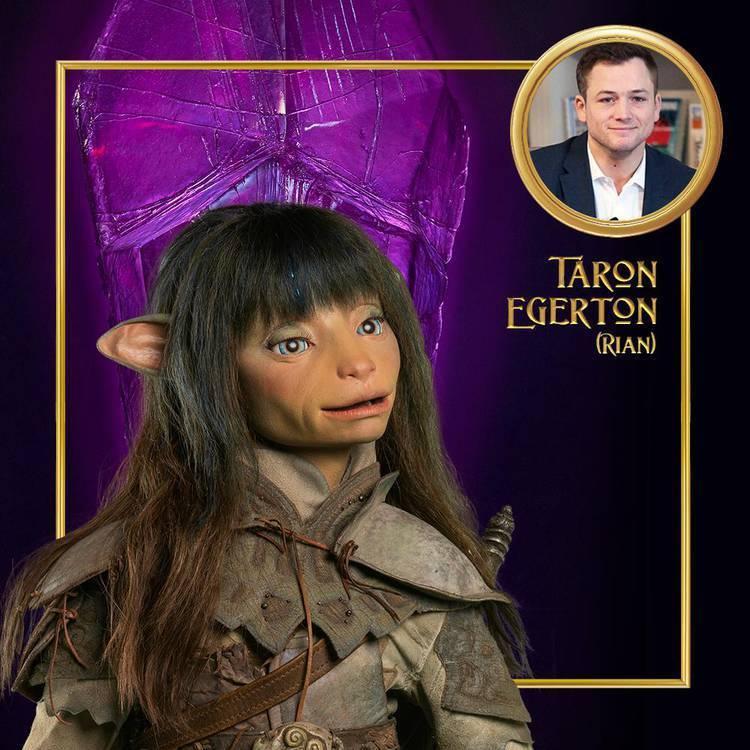 O Cristal Encantado: A Era da Resistência - Taron Egerton