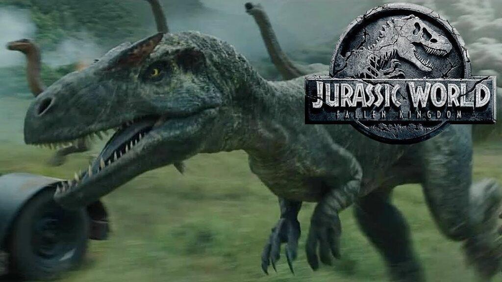 Battle at Big Rock Jurassic World Alossauro 1024x576 - Battle at Big Rock irá apresentar 2 novos dinossauros