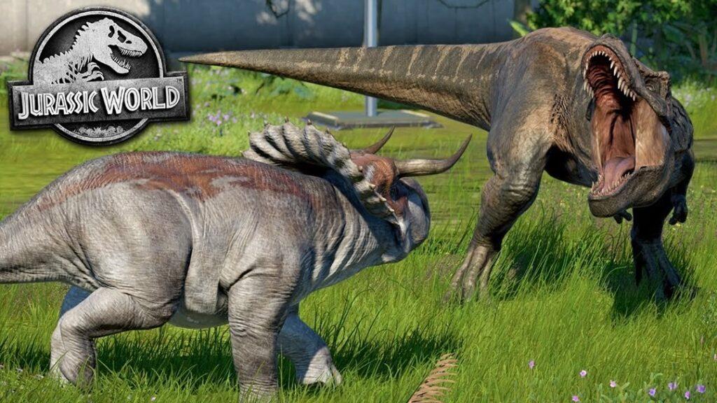 Battle at Big Rock - Jurassic World - Nasutoceratops