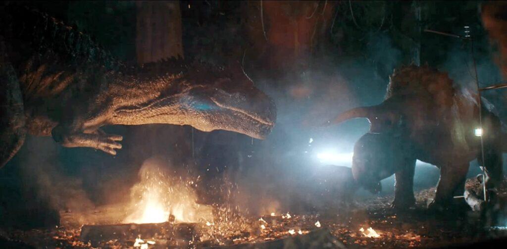 Batalha de Big Rock - Curta de Jurassic Word exibido pelo canal FX