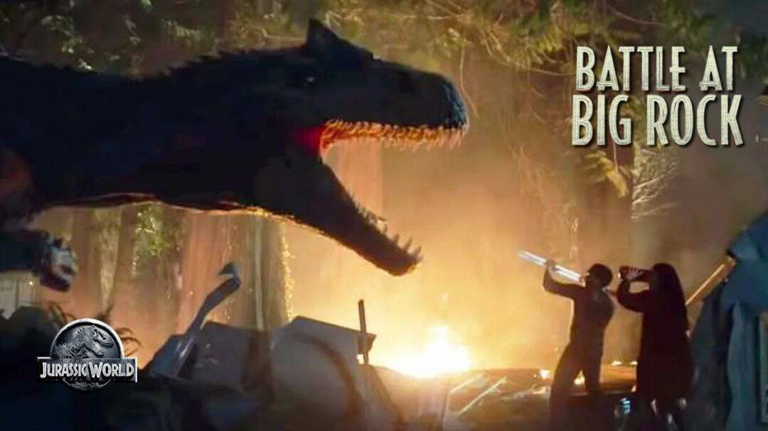 Battle at Big Rock | Curta de Jurassic World é lançado e os dinossauros estão soltos entre os humanos