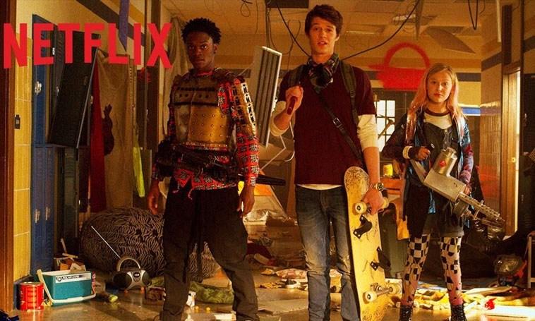Daybreak | Apocalipse Zumbi com adolescentes no estilo Mad Max e Turbo Kid