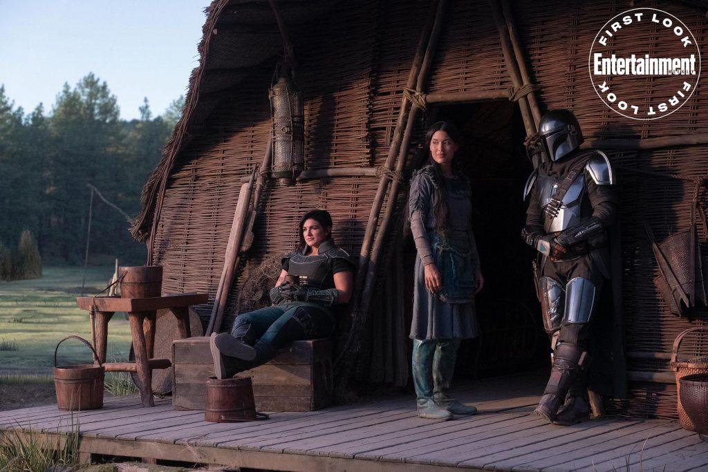 Entertainment traz destaque de capa da série The Mandalorian - Gina Carano