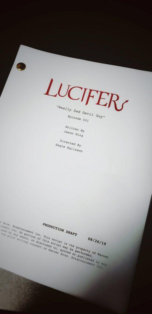 Lucifer Quinta Temporada: Título do primeiro episódio revelado: Um demônio realmente triste