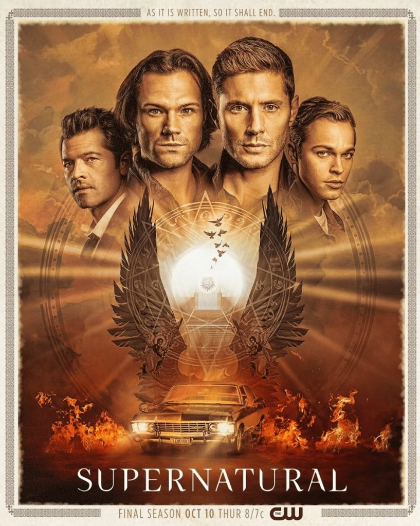 Supernatural - Cartaz da 15ª temporada