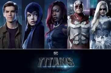 Titans Segunda Temporada: Novos pôsteres de personagens mostram Estelar e Ravena com novo visual