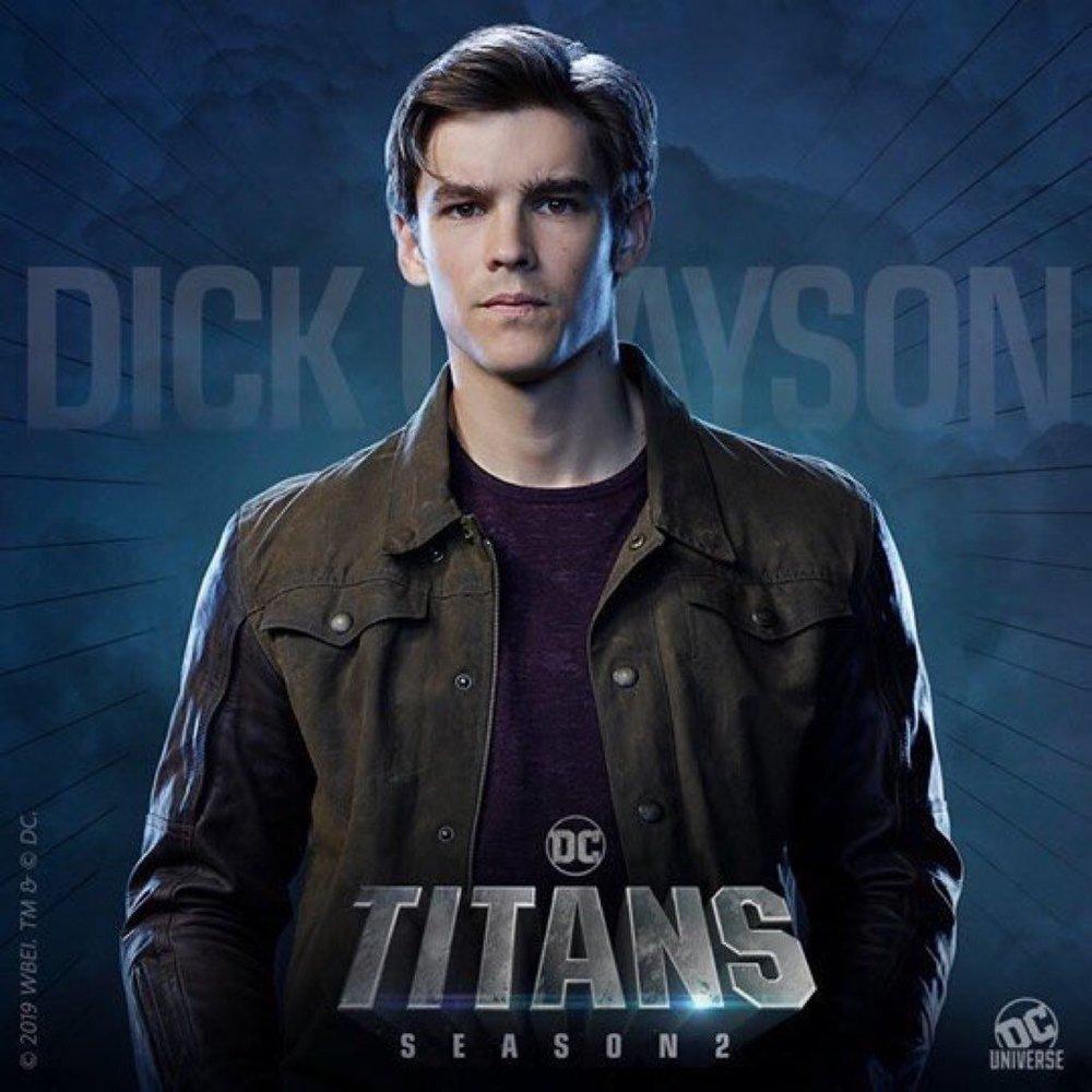 Titans Segunda Temporada: Novos pôsteres de personagens - Dick Grayson