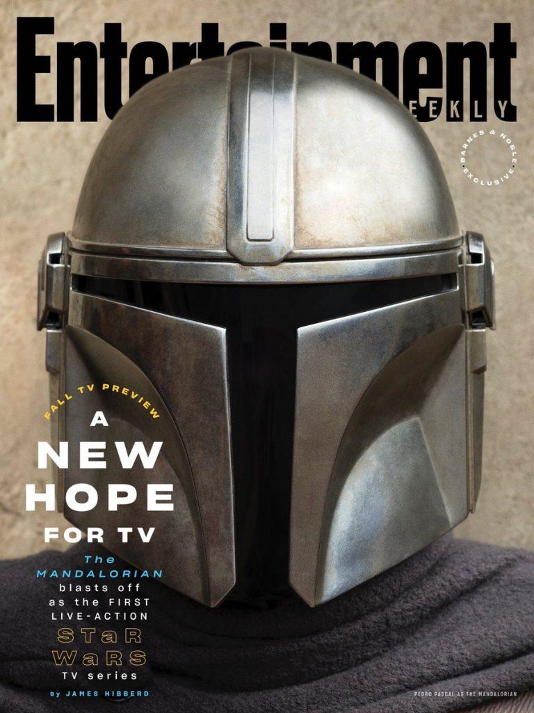 the mandalorian capa entertainment 768x1024 - Entertainment Weekly traz destaque de capa da série The Mandalorian da Disney+