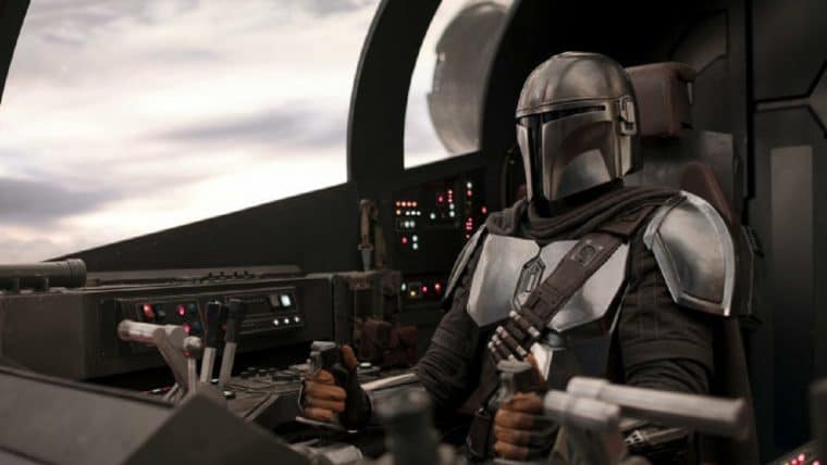 The Mandalorian cockpit da Razor Crest