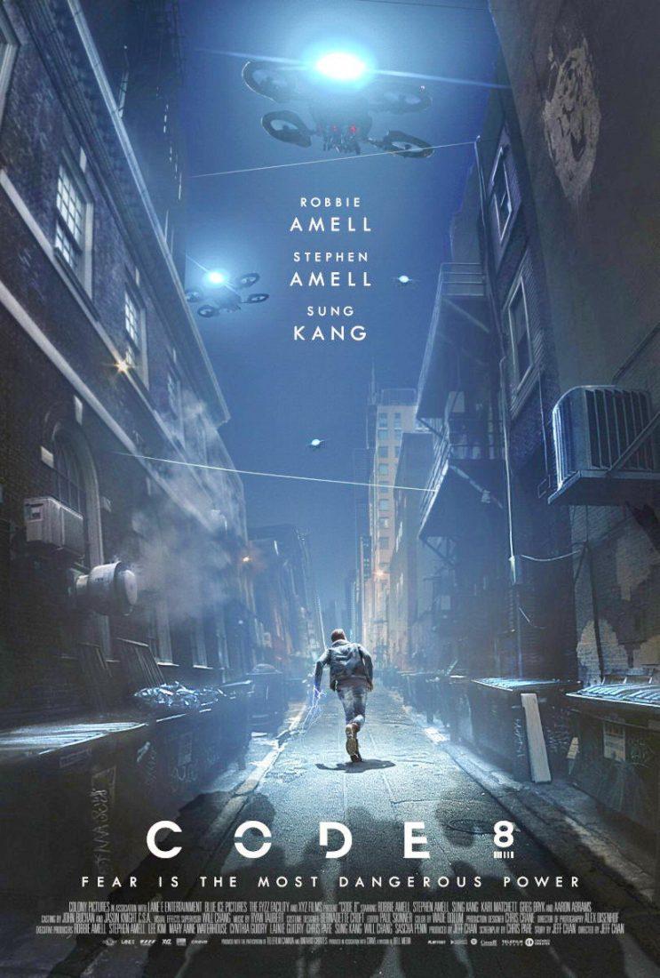 CODE 8 filme de Ficção científica com Stephen Amell e Robbie Amell