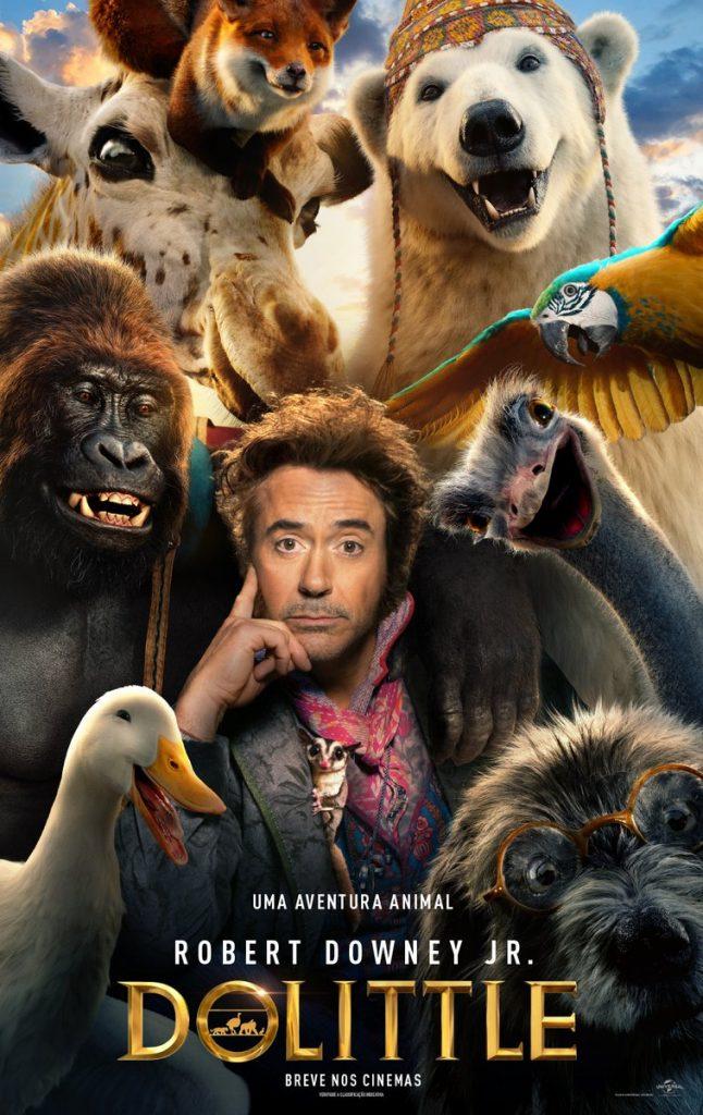 Robert Downey Jr. é Dolittle