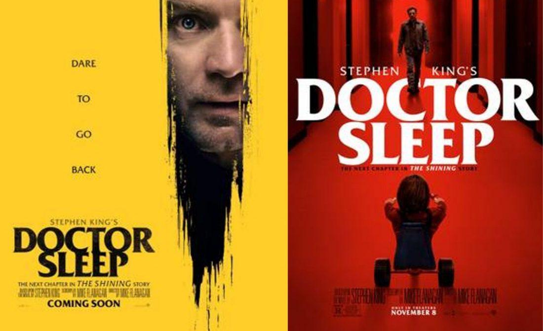 Doutor Sono | Dois novos posters fazem referência ao O Iluminado de Stephen Kings