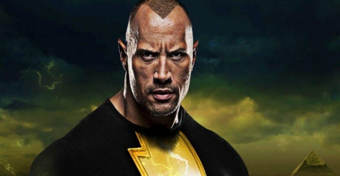 Dwayne Johnson, The Rock, divulga o início da produção do filme do Adão Negro, da DC, em julho