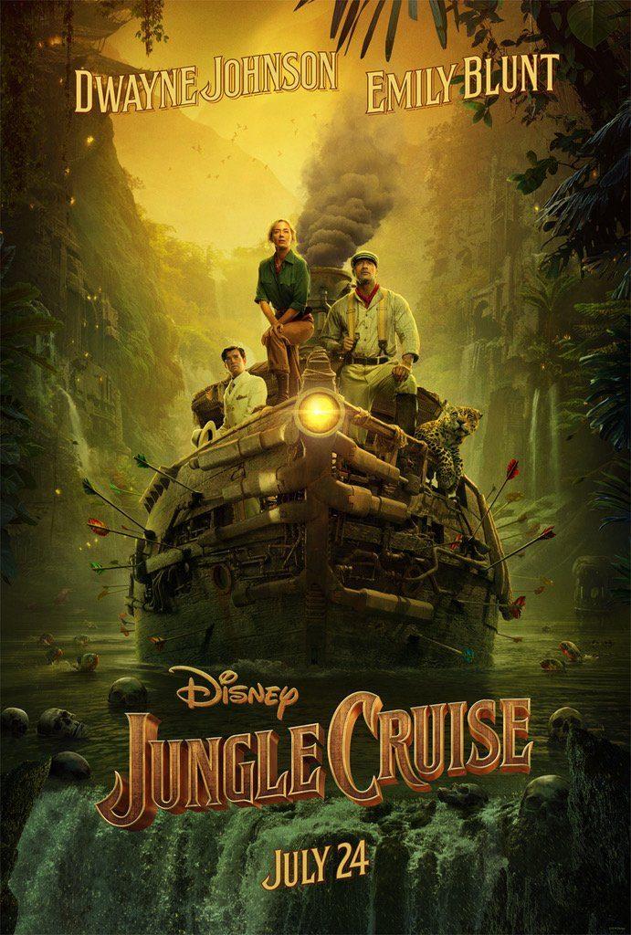 Jungle Cruise é inspirado no famoso passeio pelo parque temático da Disneylândia