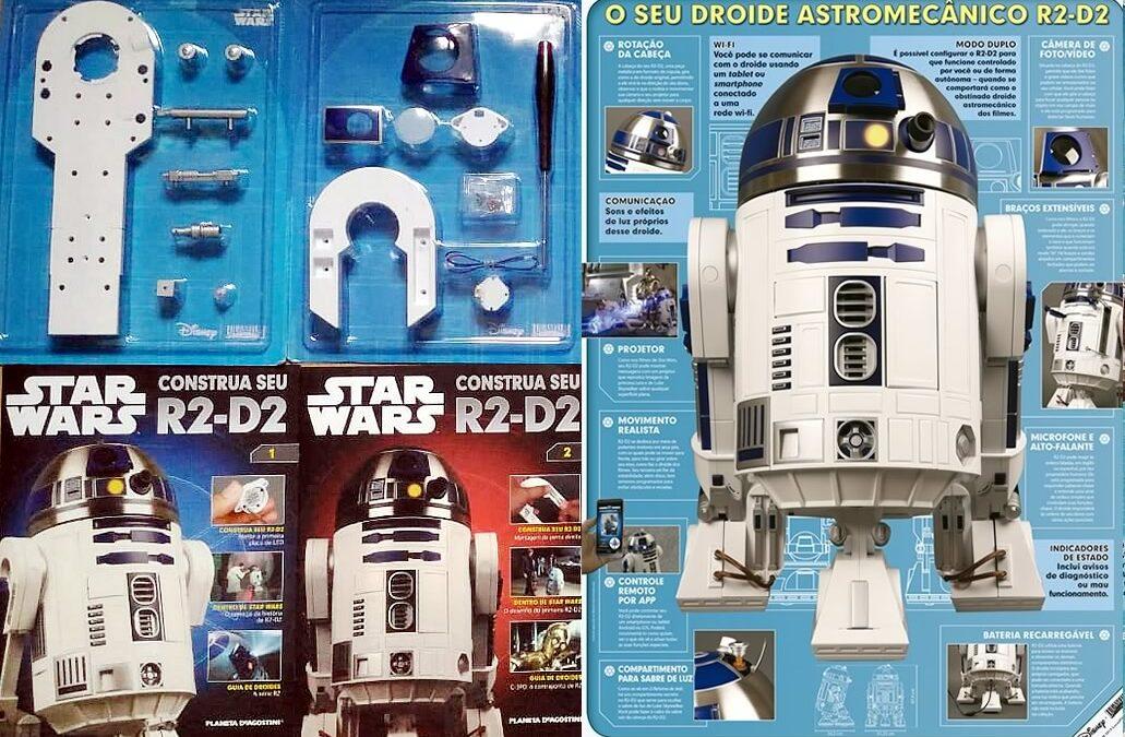 Construa seu próprio R2-D2 de Star Wars
