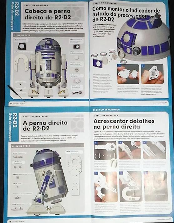 R2D2 Planeta DeAgostini Manual 1 - Construa seu próprio R2-D2 de Star Wars