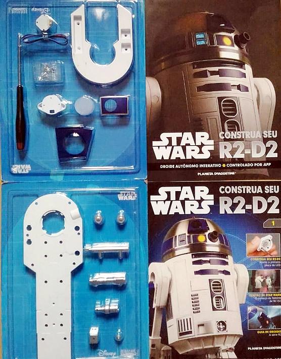 R2D2 Planeta DeAgostini Manual 2 - Construa seu próprio R2-D2 de Star Wars