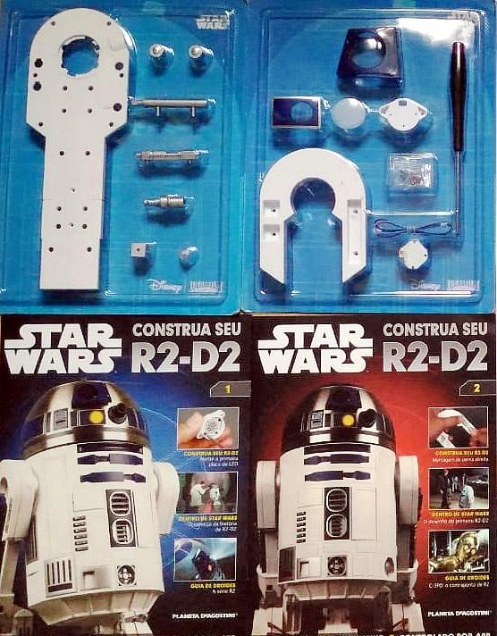 R2D2 Planeta DeAgostini Manual 3 - Construa seu próprio R2-D2 de Star Wars